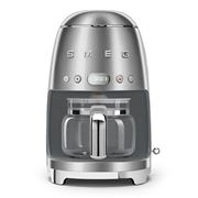 Smeg - Retro Drip Filter Coffee Machine DCF02 Silver