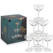 Royal Leerdam - Lets Pop Some Bottles Champagne Coupe 10pce