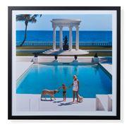 Peter's Slim Aarons Print - Nice Pool 59x59cm