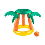 SunnyLife - Inflatable Basketball Set Tropical Island