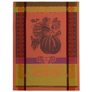 Garnier-Thiebaut - Melon Noir Des Carmes Tea Towel Red/Black