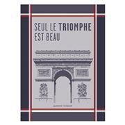 Garnier-Thiebaut - Torchon Arc CMN Marseillaise 56x77cm