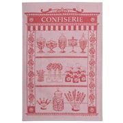 Garnier-Thiebaut - Tea Towel Confisierie Peony 58x40cm
