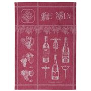 Garnier-Thiebaut - Wine Plum Tea Towel 58x40cm