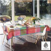 Garnier-Thiebaut - Mille Tablecloth Gardenias Buds 175x350cm