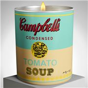 Ligne Blanche - Andy Warhol Scented Candle Campbell Yellow