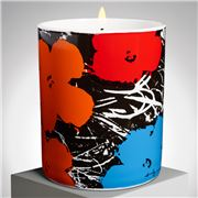 Ligne Blanche - Andy Warhol Scented Candle Flowers Blue