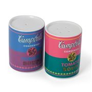 Ligne Blanche - Andy Warhol Salt/Pepper Shaker Campbell 2pce