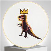Ligne Blanche - Jean-Michel Basquiat  Plate Pez Dispenser