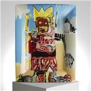 Ligne Blanche - Jean-Michel Basquiat Tray/Plate 20x16cm