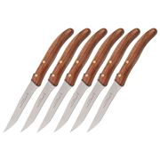 Claude Dozorme - Steak Knives w/Exotic Wood Bee Handle 6pce