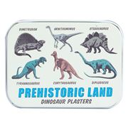 Rex - Prehistoric Land Dinosaur Plasters Tin 30pce
