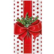 IHR - Buffet Napkin / Guest Towel 16pk A Present For You Wht