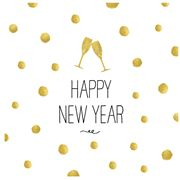 Paper Products Design - Happy New Year Lunch Napkin 20pk