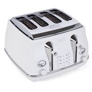 DeLonghi - Icona Elements Four-Slice Toaster CTOE4003 White