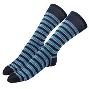 Missoni - Calza Corta Socks Blue Stripes Large