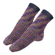 Missoni - Calza Corta Socks Multi-Grid Medium