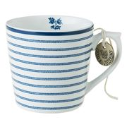 Laura Ashley - Blueprint Mini Mug Candy Stripe 220ml
