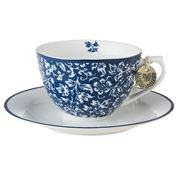 Laura Ashley - Blueprint Cup & Saucer Sweet Alyssum 260ml