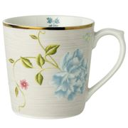 Laura Ashley - Heritage Mug Cobblestone Pinstripe 320ml