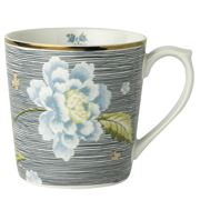 Laura Ashley - Heritage Mug Midnight Pinstripe 320ml