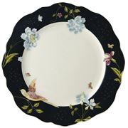 Laura Ashley - Heritage Plate Irregular Midnight 24cm