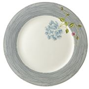 Laura Ashley - Heritage Plate Midnight Pinstripe 26cm