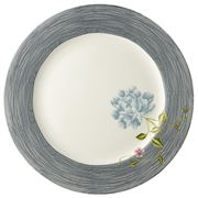 Laura Ashley - Heritage Plate Midnight Pinstripe 30cm