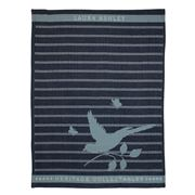 Laura Ashley - Heritage Tea Towel Midnight Bird