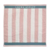 Laura Ashley - Heritage Terry Tea Towel Vert Blush Stripe