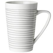 Dutch Rose -  Black Lines Mug XL 430ml