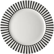 Dutch Rose - Black Stripe Plate 30cm