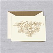 Crane & Co - Hand Engraved Trumpeting Angels Cards 10pce