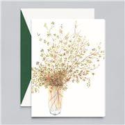 William Arthur - Pepperberry in Vase Cards 10pce