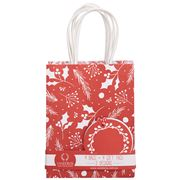 Vandoros - Fleur De Noel Red/White Bag and Tag