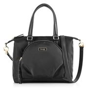 Lipault - Plume Essentials Round Pkt Tote Bag S Black