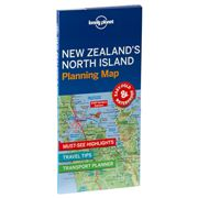 Lonely Planet - New Zealand's North Island Planning Map