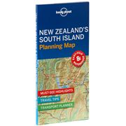 Lonely Planet - New Zealand's South Island Planning Map