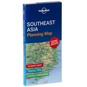 Lonely Planet - Southeast Asia Planning Map