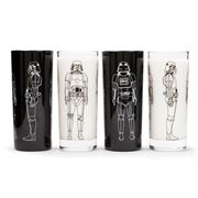 Thumbs Up - Stormtrooper Tumbler Set of 4