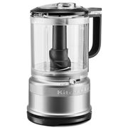 KitchenAid - 5 Cup Food Chopper KFC0516 Contour Silver