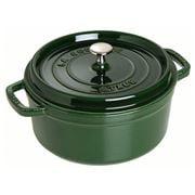 Staub - Basil Green Round Cocotte 18cm/1.7Ltr