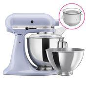 KitchenAid - KSM160 Lavender Cream Mixer w/Ice Cream Bowl