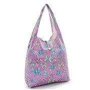 Eco-Chic - Foldaway Shopper Butterflies Lilac