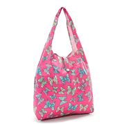 Eco-Chic - Foldaway Shopper Butterflies Fuchsia