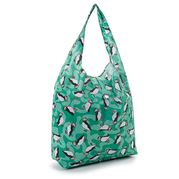 Eco-Chic - Foldaway Shopper Puffins Teal