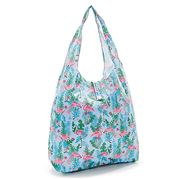 Eco-Chic - Foldaway Shopper Flamingo Blue