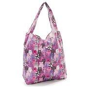 Eco-Chic - Foldaway Shopper Purple Cats