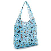 Eco-Chic - Foldaway Shopper Wild Birds Blue