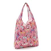 Eco-Chic - Foldaway Shopper Unicorn Pink